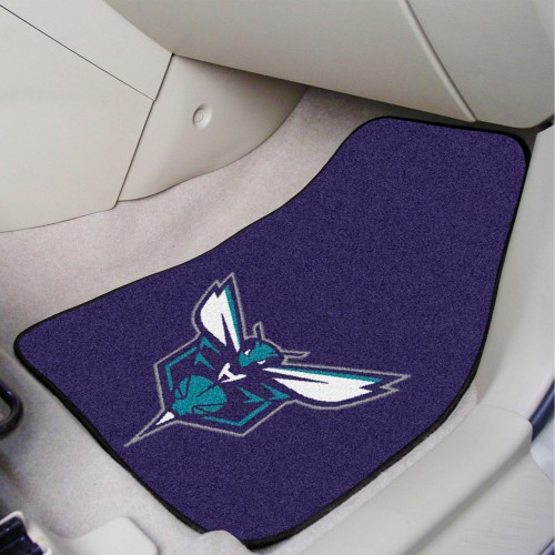 NBA - Charlotte Hornets 2-pc Carpeted Car Mats 17