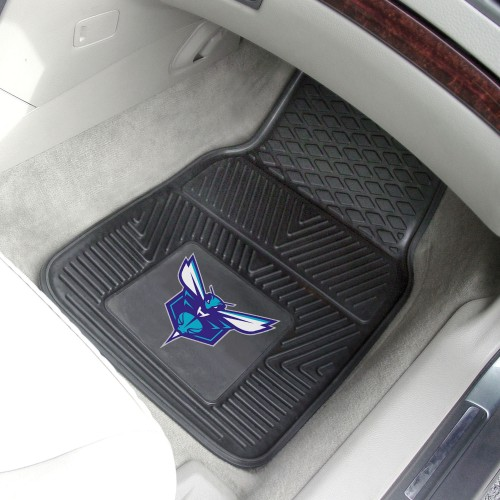 NBA - Charlotte Hornets 2-pc Vinyl Car Mats 17