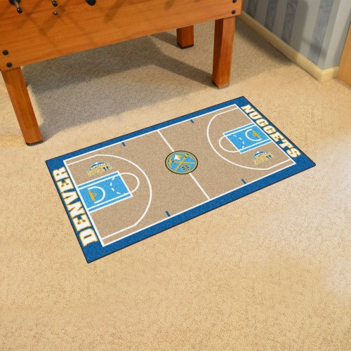 NBA - Denver Nuggets Large Court Runner 29.5x54