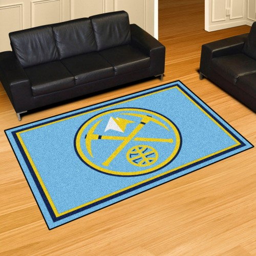 NBA - Denver Nuggets 5'x8' Rug