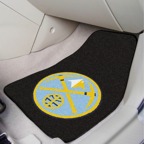 NBA - Denver Nuggets 2-pc Carpeted Car Mats 17