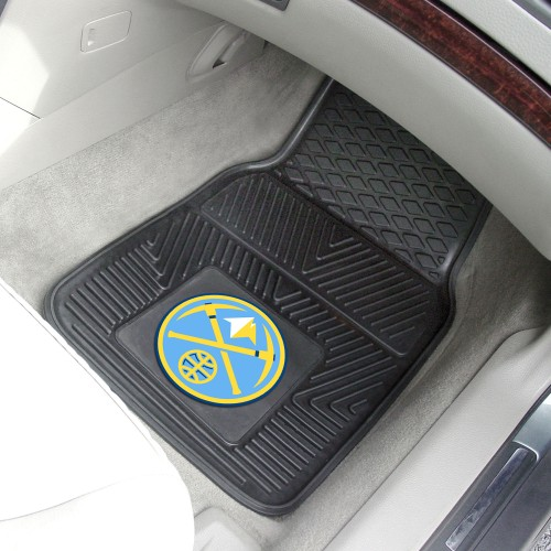 NBA - Denver Nuggets 2-pc Vinyl Car Mats 17