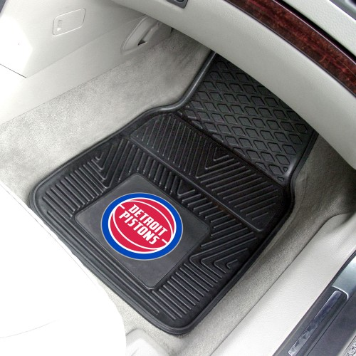 NBA - Detroit Pistons 2-pc Vinyl Car Mats 17
