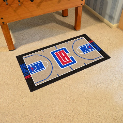 NBA - Los Angeles Clippers Large Court Runner 29.5x54