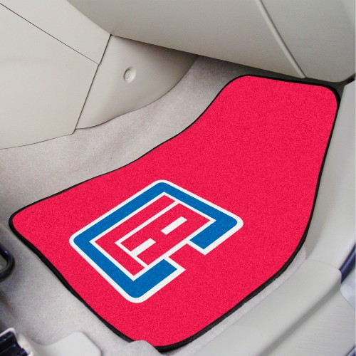 NBA - Los Angeles Clippers 2-pc Carpeted Car Mats 17