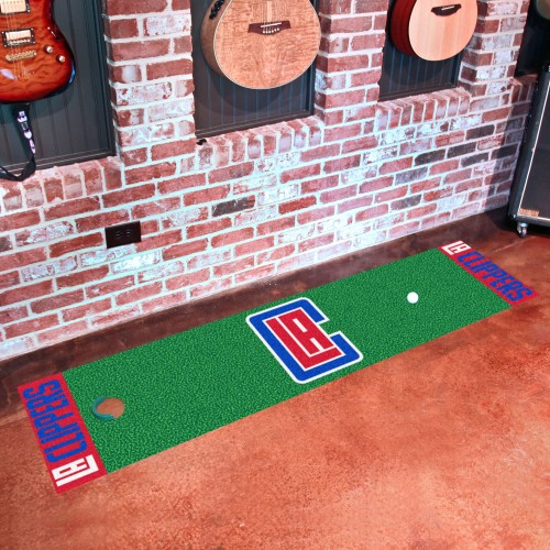 NBA - Los Angeles Clippers Putting Green Runner 18
