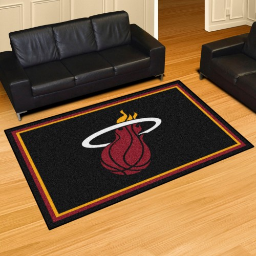 NBA - Miami Heat 5'x8' Rug