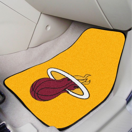 NBA - Miami Heat 2-pc Carpeted Car Mats 17