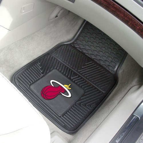 NBA - Miami Heat 2-pc Vinyl Car Mats 17