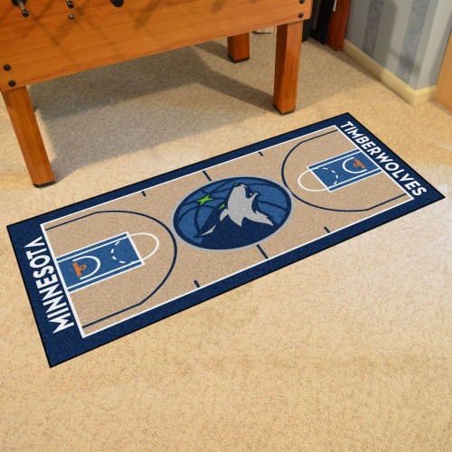 NBA - Minnesota Timberwolves NBA Court Large Runner