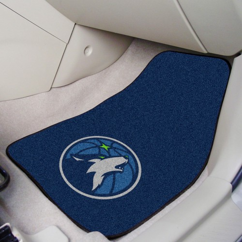 NBA - Minnesota Timberwolves 2-pc Carpeted Car Mats 17