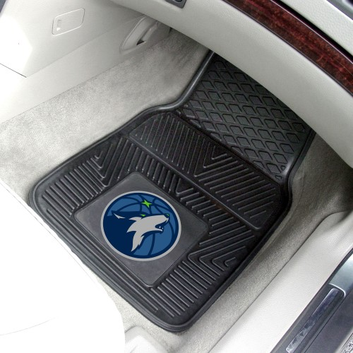 NBA - Minnesota Timberwolves 2-pc Vinyl Car Mats 17