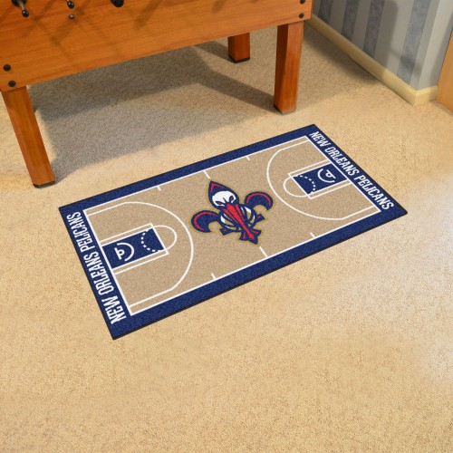 NBA - New Orleans Pelicans Large Court Runner 29.5x54