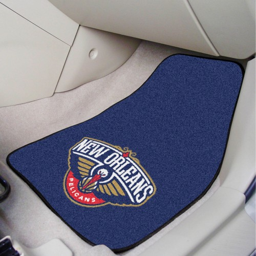 NBA - New Orleans Pelicans 2-pc Carpeted Car Mats 17
