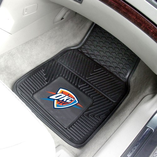 NBA - Oklahoma City Thunder 2-pc Vinyl Car Mats 17