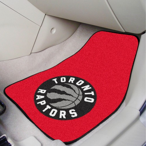 NBA - Toronto Raptors 2-pc Carpeted Car Mats 17