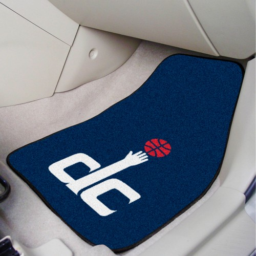 NBA - Washington Wizards 2-pc Carpeted Car Mats 17