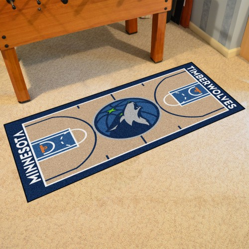 NBA - Minnesota Timberwolves NBA Court Runner 24x44