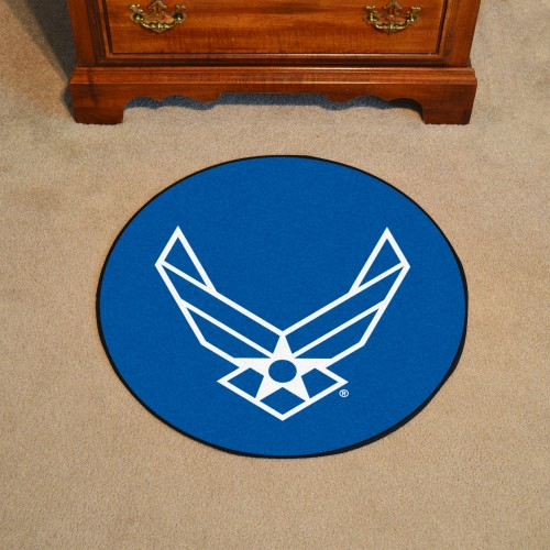 Air Force Round Rug 44