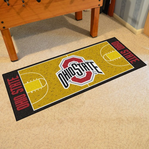 Ohio State Basketball Court Runner 30