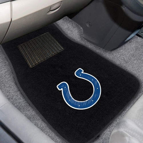 NFL - Indianapolis Colts 2-pc Embroidered Car Mats 18