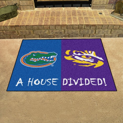 Florida - LSU House Divided Rug 33.75