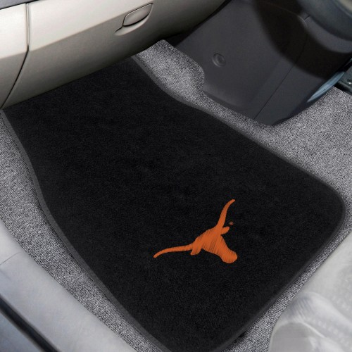 Texas 2-pc Embroidered Car Mats 18