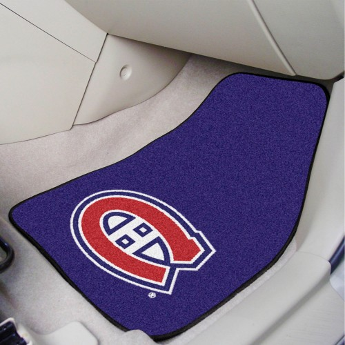 NHL - Montreal Canadiens 2-pc Printed Carpet Car Mats 17