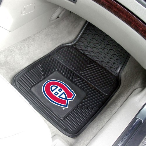 NHL - Montreal Canadiens 2-pc Vinyl Car Mats 17