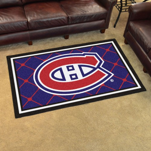 NHL - Montreal Canadiens 4'x6' Rug