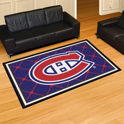NHL - Montreal Canadiens 5'x8' Rug