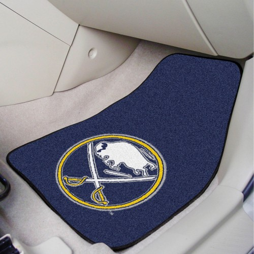 NHL - Buffalo Sabres 2-pc Printed Carpet Car Mats 17