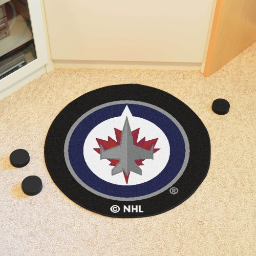 NHL - Winnipeg Jets Puck Mat 27