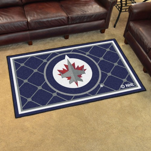 NHL - Winnipeg Jets 4'x6' Rug