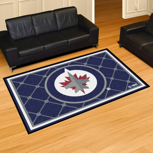 NHL - Winnipeg Jets 5'x8' Rug