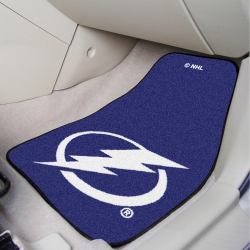 NHL - Tampa Bay Lightning 2-pc Printed Carpet Car Mats 17