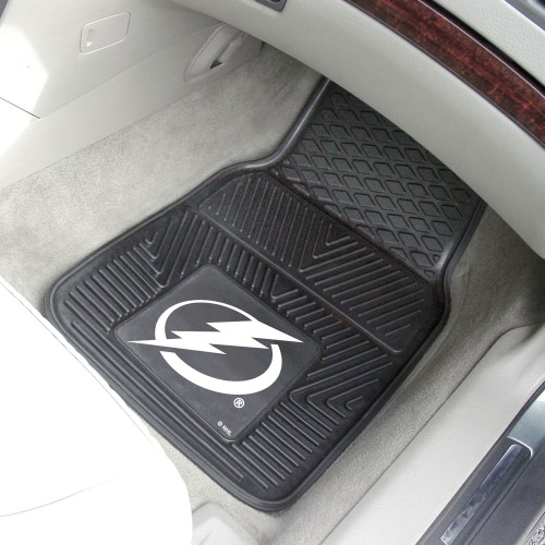 NHL - Tampa Bay Lightning 2-pc Vinyl Car Mats 17