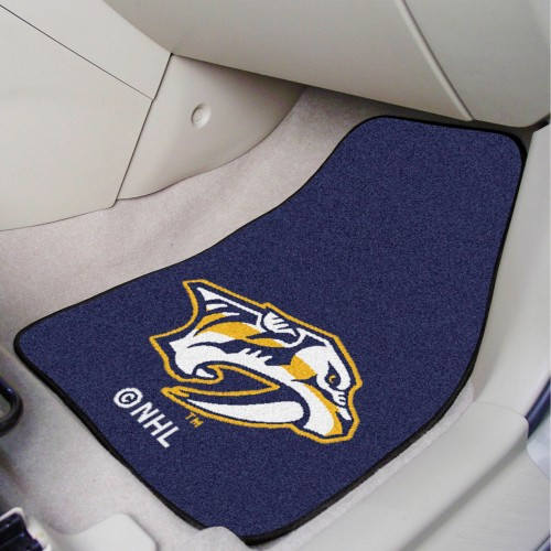 NHL - Nashville Predators 2-pc Printed Carpet Car Mats 17