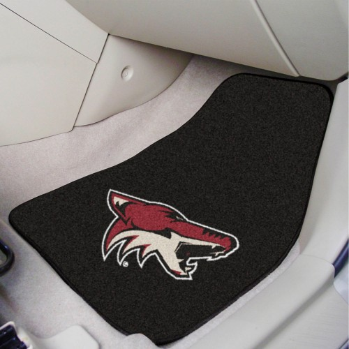 NHL - Arizona Coyotes 2-pc Printed Carpet Car Mats 17
