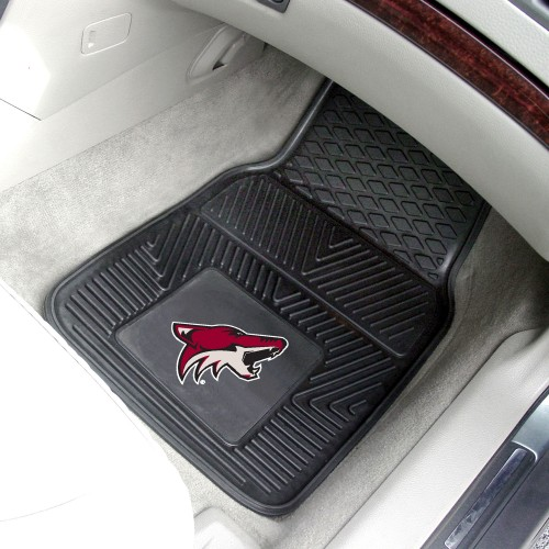 NHL - Arizona Coyotes 2-pc Vinyl Car Mats 17