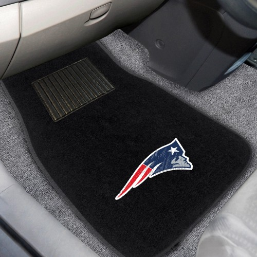 NFL - New England Patriots 2-pc Embroidered Car Mats 18