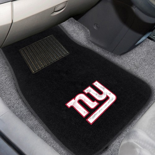 NFL - New York Giants 2-pc Embroidered Car Mats 18