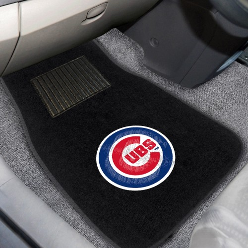 MLB - Chicago Cubs 2-pc Embroidered Car Mats 18