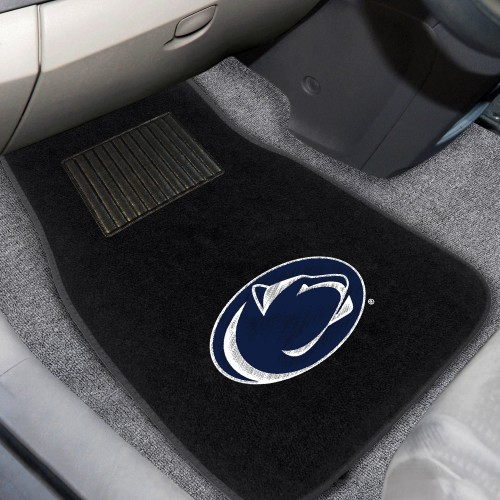 Penn State 2-pc Embroidered Car Mats 18
