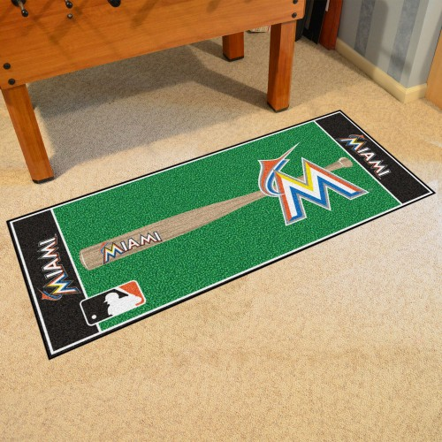 MLB - Miami Marlins Baseball Runner 30