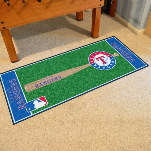 MLB - Texas Rangers Baseball Runner 30