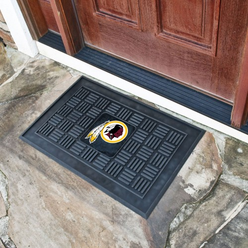 "NFL - Washington Football Door Mat 19.5""x31.25"""