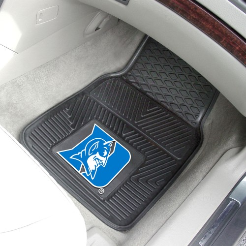 Duke 2-pc Vinyl Car Mats 17x27