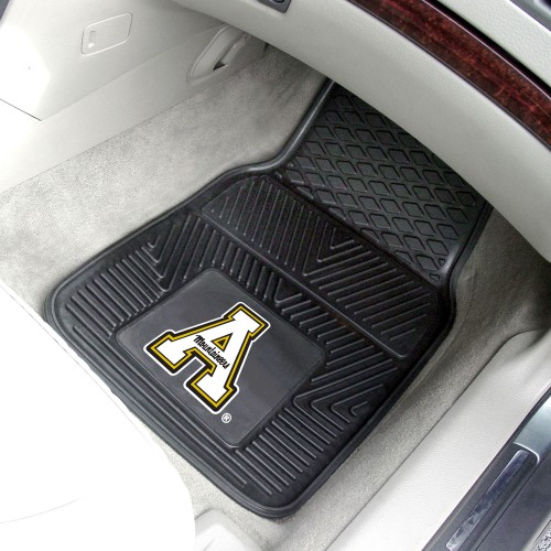 Appalachian State 2-pc Vinyl Car Mats 17x27