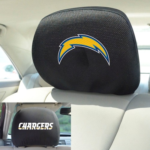 NFL - Los Angeles Chargers Head Rest Cover 10